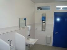 WC- und Duschanlage